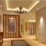 中式简约风格公寓玄关装饰