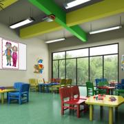 简约幼儿园室内环境装修