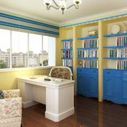 清新地中海书房装修
