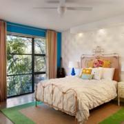 美式简约风格房间背景墙装饰
