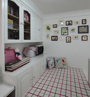 欧式简约风格书房书柜装饰