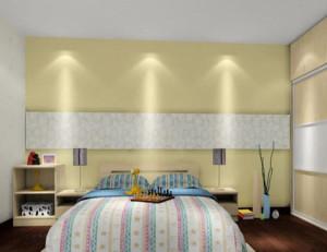 韩式清新风格卧室背景墙装饰