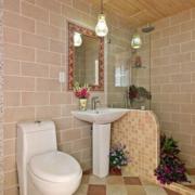卫生间背景墙造型图