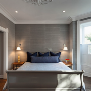 三室一厅简约风格卧室吊顶装饰