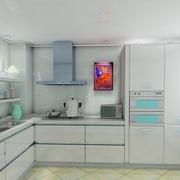韩式清新风格厨房装饰