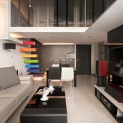 loft风格简约楼梯装饰