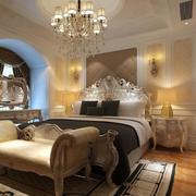 欧式卧室精致飘窗装饰