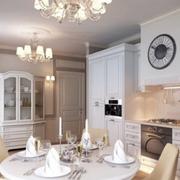 欧式简约风格公寓餐厅装饰