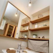 北欧风格清新小型卫生间灯饰