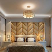 欧式软包卧室床头装饰