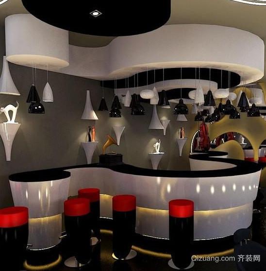 特色小酒吧室内装潢装修设计效果图