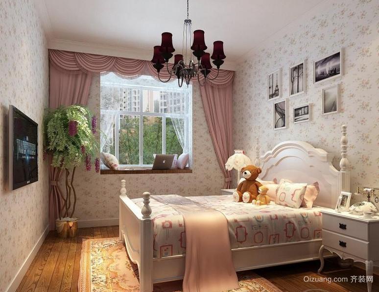 美丽田园韩式儿童房装修效果图欣赏