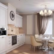 欧式公寓小型一字型厨房装饰