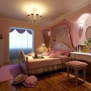 清新风格卧室背景墙装饰