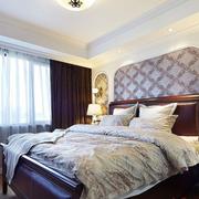 美式简约卧室榻榻米装饰