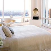 欧式简约风格卧室窗户效果图