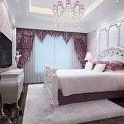 韩式简约风格卧室壁纸装饰