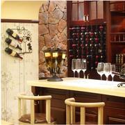 美式酒柜吧台装饰