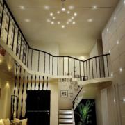 后现代风格理性房屋客厅简约吊顶装饰