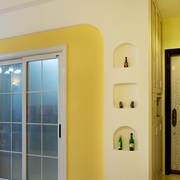 现代简约风格玻璃推拉门装饰