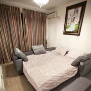 现代简约风格卧室床头背景墙