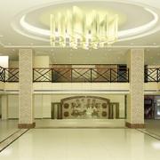现代简约风格大堂创意吊灯设计