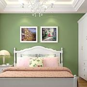 欧式田园风格小型房间背景墙