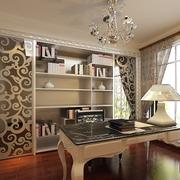 别墅欧式风格书房装修