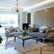 简约风格欧式客厅吊顶装饰