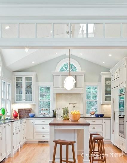 精美厨房灯饰照明设计装修效果图