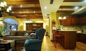 古典气息浓厚的家庭吧台设计装修效果图鉴赏