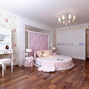 欧式简约风格清新卧室装饰