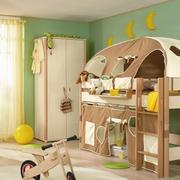 美式简约风格小婴儿房装饰
