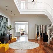 简约风格复式楼楼梯装饰