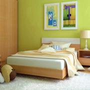 现代简约风格卧室床头灯饰装饰
