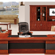 中式简约风格办公室整体橱柜装饰