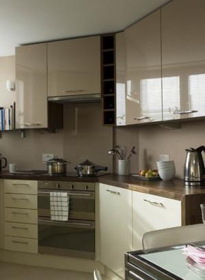 美式现代化简约厨房橱柜装饰