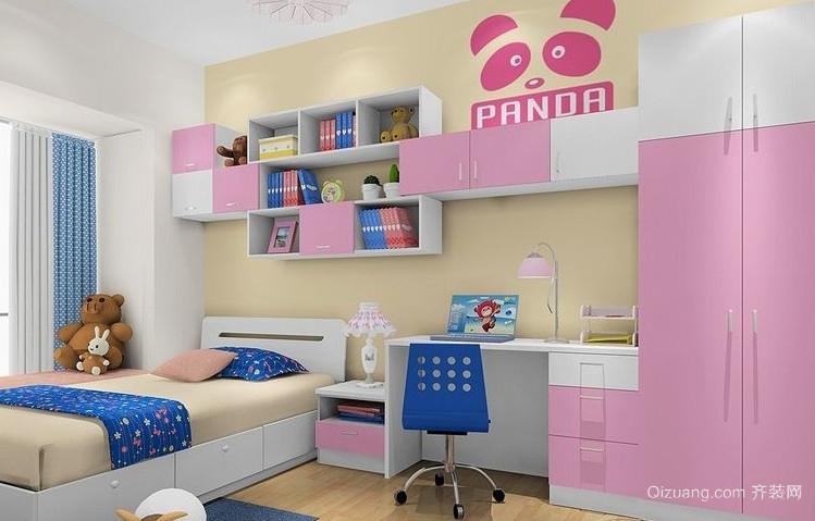 童话世界般的儿童房装修效果图欣赏