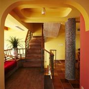异域风情简约楼梯装饰