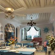 简约风格室内客厅吊顶装饰