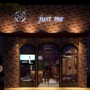美式复古风格酒吧门饰装饰