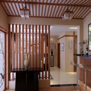 日式简约风格吧台装饰
