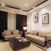 复式楼简约风格小房间客厅装饰