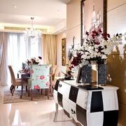 欧式奢华风格背景墙装饰