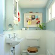 北欧风格家庭清新风格卫生间装饰