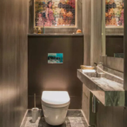 欧式风格小房间厕所效果图