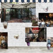 loft风格咖啡厅效果图