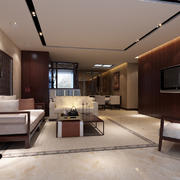后现代风格简约客厅装饰
