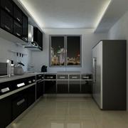 后现代风格厨房简约吊顶装饰