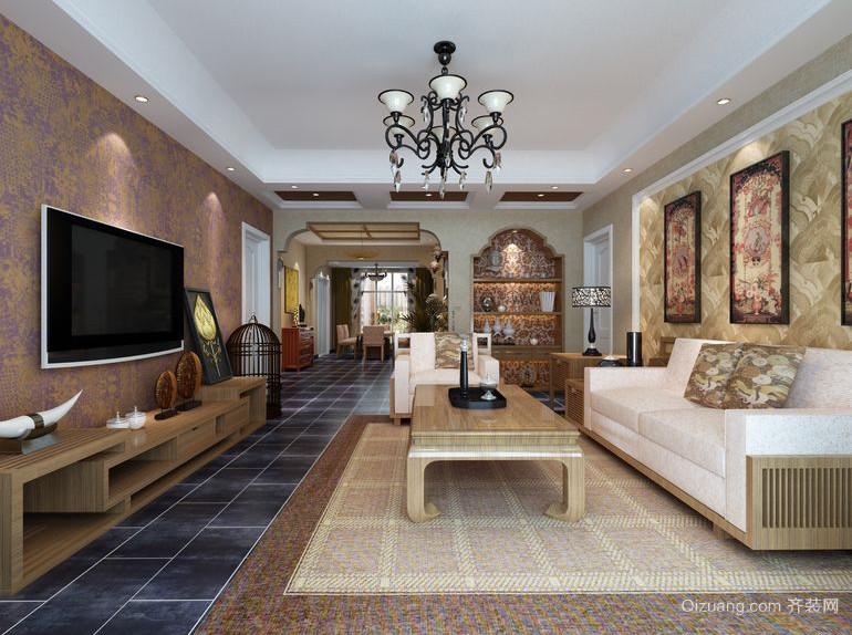 全新简欧风格客厅装修效果图